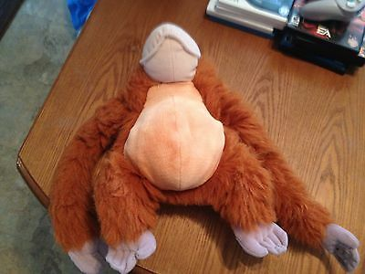 "Disney King Louie Plush Orangutan 14"" Jungle Book Stuffed Animal"