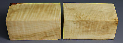 x0420  -         2 pcs   CURLY MAPLE Turning/Craftwood -  Kiln Dried