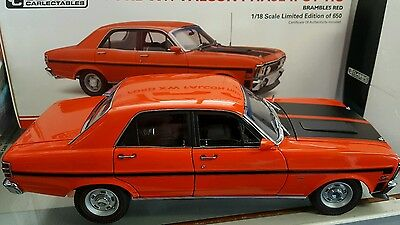 1:18 Ford XW Falcon GTHO Phase 2 - Brambles Red Classic Carlectables only 650.