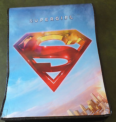 """Comic Con 2016 Swag Bag/Tote SUPERGIRL SDCC 25"""" x 19"""" w/ Full Length Flap"""
