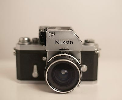 NIKON F *SLR* CAMERA BODY with 50mm f2.8 Nikkor H lens