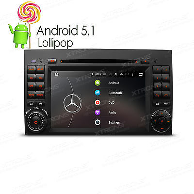 "7"" Android 5.1 CD DVD DAB+ WiFi Autoradio für Benz A/B Klasse W245 W169 Sprinter"