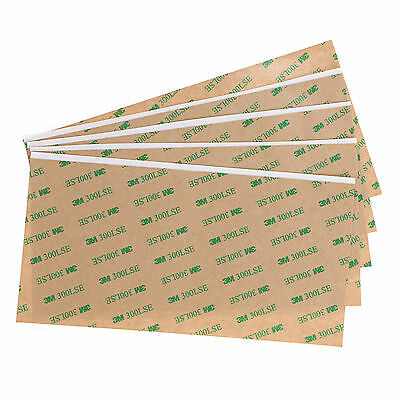 2/5pcs 3M 300LSE Double Sided Strong Sticky Heavy Duty Sheet -ADHESIVE Tape Glue