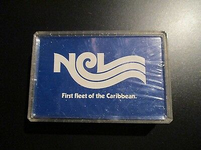 vintage NCL sealed deck playing cards Norwegian Caribbean Cruise Line NORWAY etc