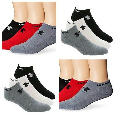 Under Armour Elevated No show Mens Socks-3 Pack