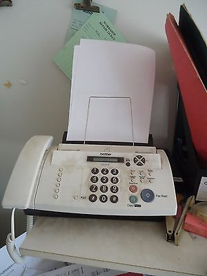 Brother 878 Phone / Copier / Fax Machine plus 2 ink & 5 rolls thermal paper