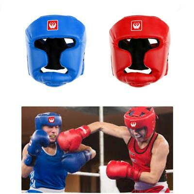 No Impact Head Guard Helmet Kick Boxing Martial Arts MMA Training Protector Gear