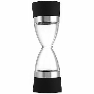 Hourglass Shape Dual Salt Pepper Mill Spice Grinder for Kitchen Cooking Tools UP