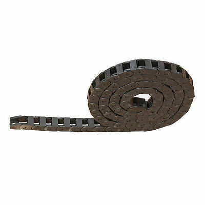 "10mm x 15mm Carrier  Plastic Towline Cable Drag Chain 1M 40"" CNC Machine Tool"