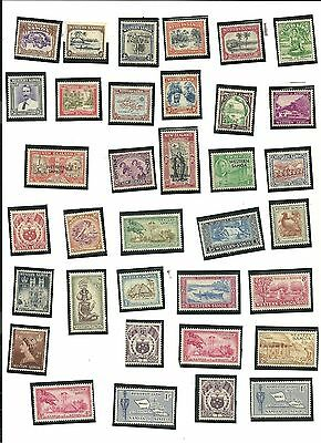 Samoa - Lot of 35 Stamps Years From 1935 Thru 1958