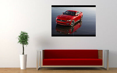 """2015 FORD MUSTANG NEW GIANT LARGE ART PRINT POSTER PICTURE WALL 33.1""""x23.4"""""""