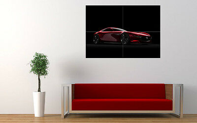 """2015 MAZDA RX VISION CONCEPT NEW LARGE ART PRINT POSTER PICTURE WALL 33.1""""x23.4"""""""
