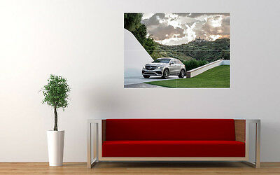 """2015 MERCEDES AMG GLE 63 COUPE LARGE ART PRINT POSTER PICTURE WALL 33.1""""x23.4"""""""