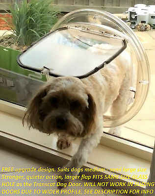 A+ Dog Door, A Far Superior product - 4 Way Locking, Quieter, Stronger, PC3