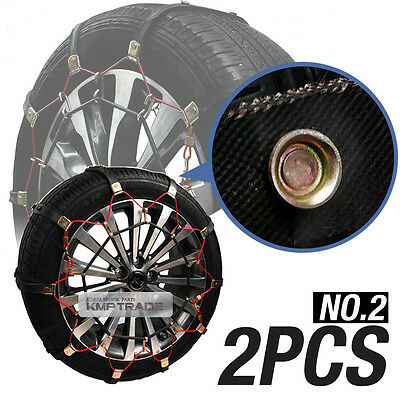Car Snow Tire Chain Wether Winter Antiskid Belt Ice Nonslip No2 For All Vehicle