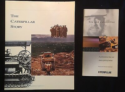 The Caterpillar Story 2 Book Lot With Caterpillar Product & Services Guide Book