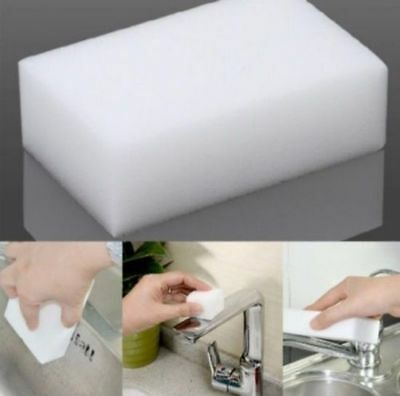 12 PCS Cleaning Magic Sponge Eraser Melamine Cleaner Multi-functional Foam White