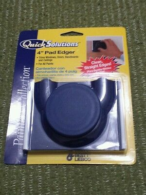 "Quick Solutions Painters Collection 4"" Pad Paint Edger ns"