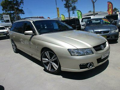 2007 Holden Commodore VZ@VE SVZ Beige Automatic 4sp A Wagon