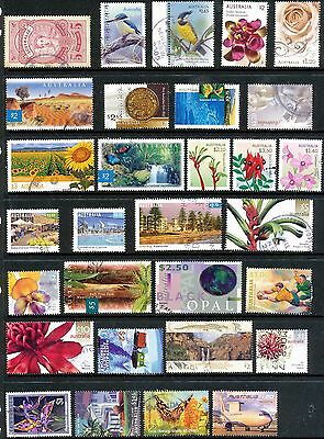 Australian Stamps Mixture High Value Used Stamps Bulk