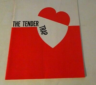 1960  The Tender Trap Red Buttons Program /lee Grant / Murray Hamilton