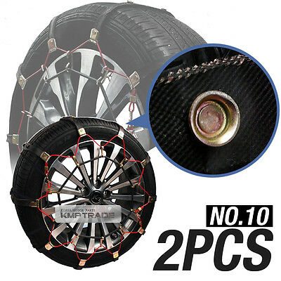 Car Snow Tire Chain Wether Winter Antiskid Belt Ice Nonslip No10 For All Vehicle