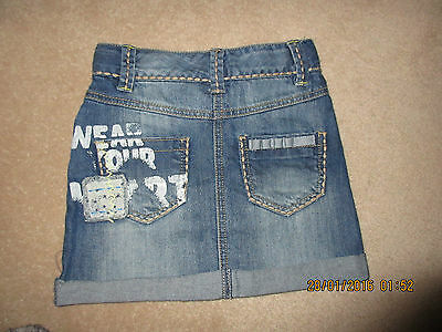 Girls Next Skirt age 3-4 worn once - excellent condition