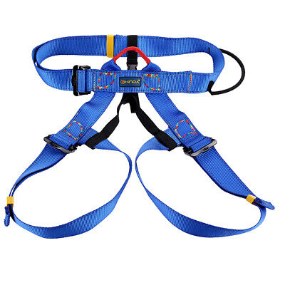 Safety Rock Climbing Harness Seat Sit Bust Belt Rappelling Gear Equipment