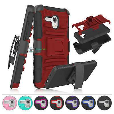 Shockproof Belt Clip Holster Armor Case For Alcatel One Touch Fierce XL / Flint