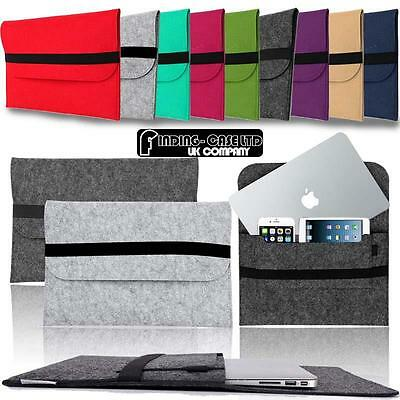 """For Apple MacBook Air/pro/Retina 11"""" 12"""" 13"""" 15"""" Laptop Sleeve Cover Case Bag"""