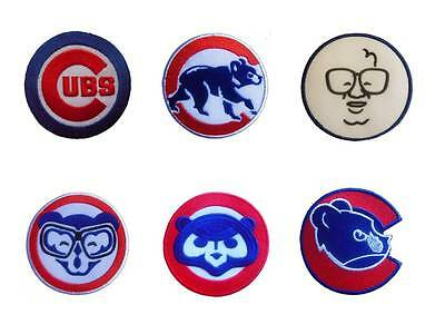 New MLB Chicago Cubs Baseball Logo embroidered iron on patch. 2 4/5 inch