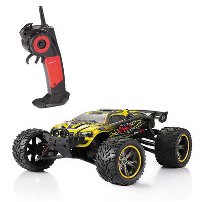 GPTOYS S912 Off-Road 33MPH 1:12 Scale 2.4 GHz 2WD Electric Cars- Yellow AU PLUG