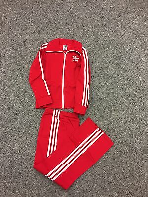 Vintage Adidas Track Suit. Made In Hong Kong. Deadstock. Size D 164 1980's.