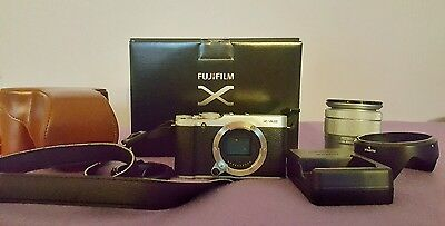 Fujifilm X-A2 mirrorless with 16-50mm