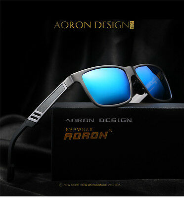 2017 New Mens Polarized Driving Sunglasses Sports Mirrored Sun Glasses Eyewear