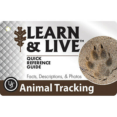 WG01868 Carte informative UST Animal Learn And Live Cards