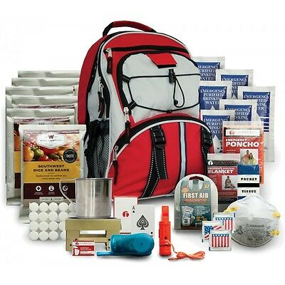 WISE01 Five Day Survival Pack Red