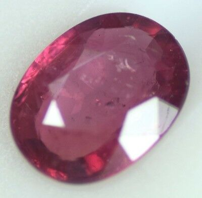 CERTIFIED SPARKLING  MOZIAMBIQ  NATURAL RUBY 1.14 cts  untreated Top Quality