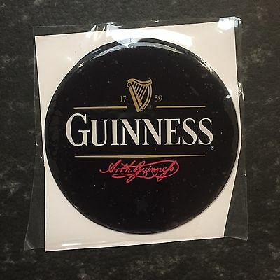 Guinness Beer Tap Badge, Decal, Top