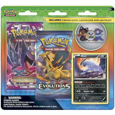 POKEMON XY * 2-Pack Pin Blister: Absol