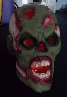 Halloween Prop Monster Head Made From Resin Novelty Gift