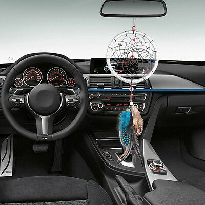 Small Feather Handmade Dream Catcher Car Wall Door Hanging Ornaments Decoration