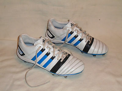 Adidas Ff 80 Rugby Boots : Uk Size 10 Euro 44.5 - In Vgc (Free Uk P&p)