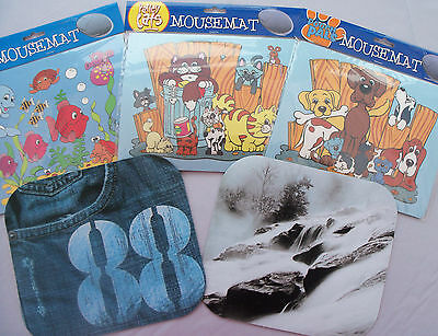 Novelty Mouse Mats - Good Quality - 5 different designs
