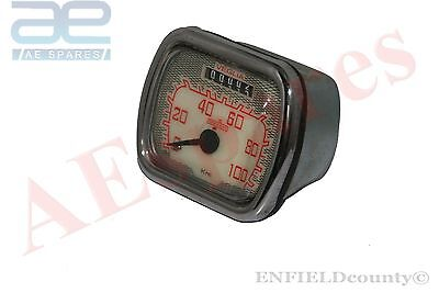 Lambretta Ld Reproduction Speedometer Veglia 100 Km/h Good Quality