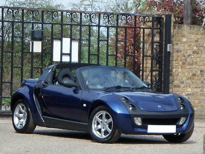 2006/06 SMART ROADSTER CONVERTIBLE 0.7 PETROL AUTO, ONLY 56k MILES