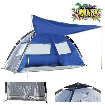 Land & Sea Pop Up Tent With Zip UPF50+ Great For The Beach Or The Park