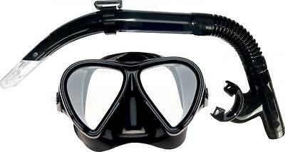 Mirage Adult Stealth Dive Mask & Snorkel Set Spearfishing Holiday Cruise New