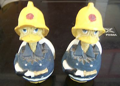 Two Firefighter The Eggbert Ducks!