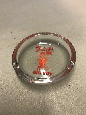 Vintage Frisch's Big Boy Table Ashtray